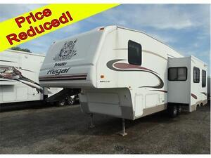 5th wheel RV with bunkhouse