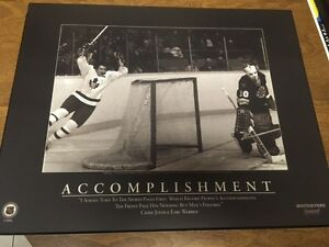 Toronto Maple Leafs Darryl Sittler Motivational Picture
