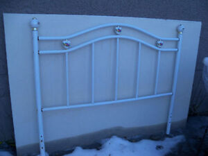 White headboard for double bed