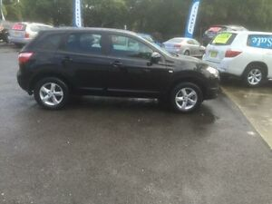 2012 Nissan Dualis J10 Series 3 ST (4x2) Black 6 Speed CVT Auto Sequential Wagon Sutherland Sutherland Area Preview