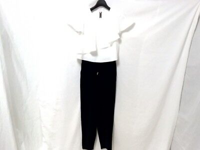 Auth TED BAKER DarkNavy White Pant Rompers/Jumpers Women