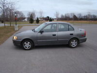 2002 Hyundai Accent Saftied, Etested and Warrantied  Only 141K