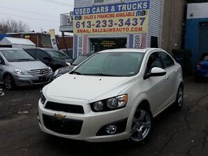 2014 Chevrolet Sonic LTZ Turbo