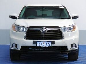 2014 Toyota Kluger GSU55R GXL (4x4) White 6 Speed Automatic Wagon East Rockingham Rockingham Area Preview