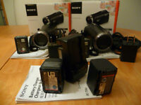 2 x CAMERA Video (Full HD 60p) SONY HDR- Cx330 + Extra batteries