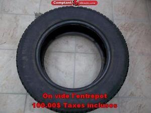 2 PNEUS HIVER KUMHO P225-60-R14 268 king ouest Comptant illimite Taxe Inclu.
