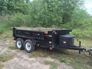 5 Ton Dump Trailer with Equipment Ramps, 6' X 10', New 2015 Kawartha Lakes Peterborough Area image 2