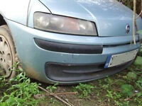 fiat punto active front bumper breaking for parts in GATWICK Area .