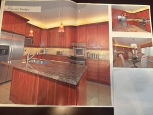 12 years Oak kitchen for sale including Granite and appliances