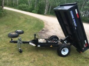 2014 Hydraulic Dump Trailer ***Would trade for Utility Trailer