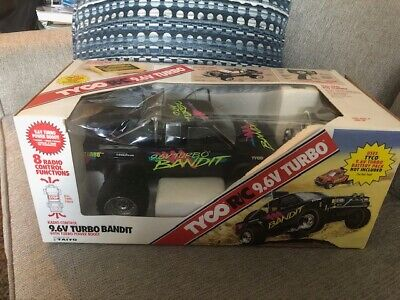 Tyco RC 9.6v Turbo Baja Bandit Nissan Truck Taiyo with box Vintage 1989 RARE