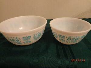 VINTAGE PYREX Bowls & Mugs:  11 Pieces for $45!