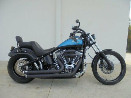 2011 Harley Davidson FXS Blackline 1600CC Cruiser 1584cc