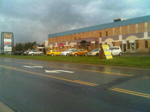 Retail and Office Space for Lease facing busy Restigouche Road