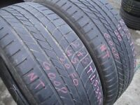 275/45/20 Goodyear Eagle F1 4x4 SUV x2 A Pair, 5.0mm (454 Barking Rd, Plaistow, E13 8HJ) Used Tyres