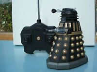 Small lot of Doctor Who Daleks inc Remote Control