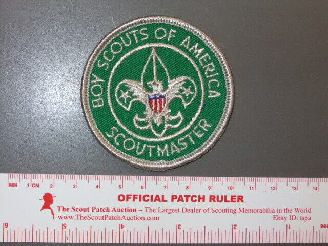 Boy Scout 1960s Scoutmaster patch 2894W
