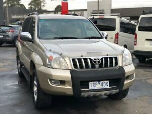 2007 Toyota Landcruiser Prado KDJ120R MY07 VX (4x4) Bronze 5 Speed Automatic Wagon Burwood Whitehorse Area Preview