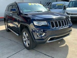 2013 Jeep Grand Cherokee WK MY14 Limited (4x4) Blue 8 Speed Automatic Wagon Hendra Brisbane North East Preview