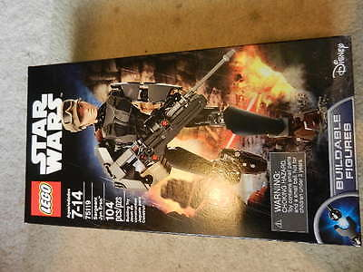 New LEGO STAR WARS Sergeant Jyn Erso buildable figure 75119 disney starwars