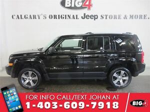 2016 Jeep Patriot High Altitude, Leather,Heated Seats, Sunroof