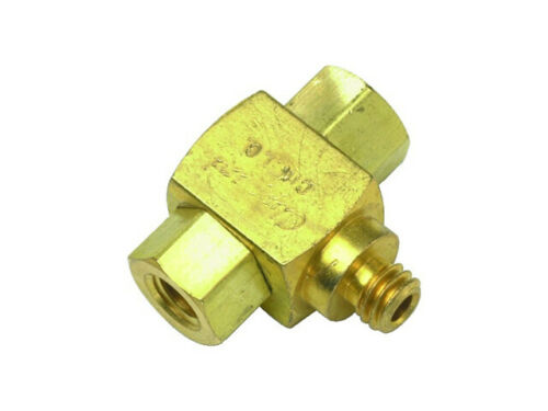 Clippard MSV-1 Shuttle Valve, #10-32 Male Outlet & Female Inlets (Gar5-6)