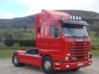 1996 SCANIA 143H 450 STREAMLINE 4×2 TRACTOR UNIT