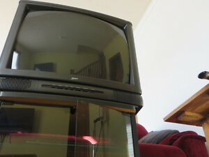 ZENITH television with stand