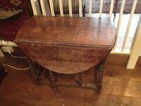 Oak gateleg Table for sale