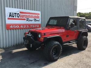 2004 Jeep TJ Rubicon  -- GARANTIE 1 AN/ 12 000 KMS --