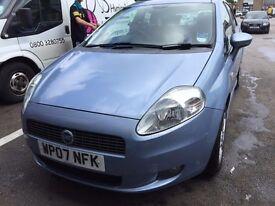 2007 Fiat Punto Automatic low millage £1399!!