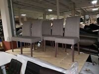 6 piece fabricated chairs