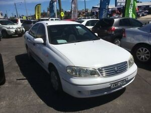 2004 Nissan Pulsar N16 MY04 ST White 4 Speed Automatic Sedan Sandgate Newcastle Area Preview