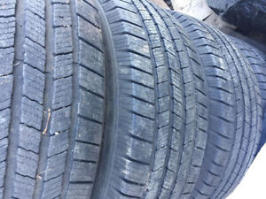 LT 265/70 R 17 SUMMER TIRES WITH DODGE RIMS