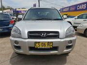 2008 Hyundai Tucson MY07 City Elite Silver 4 Speed Automatic Wagon Cardiff Lake Macquarie Area Preview