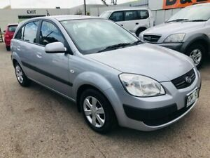 2007 Kia Rio JB EX Silver 5 Speed Manual Hatchback Woodville Park Charles Sturt Area Preview