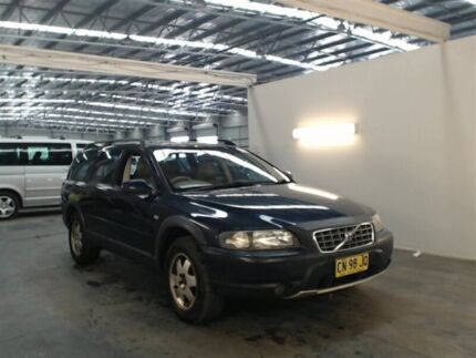 2001 Volvo Cross Country Blue 5 Speed Automatic Wagon