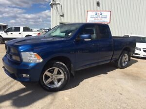 2011 Ram 1500 SPORT,5.7 HEMI,4X4,ALLOYS,LOADED