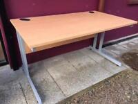 Beech 1400 straight office desk