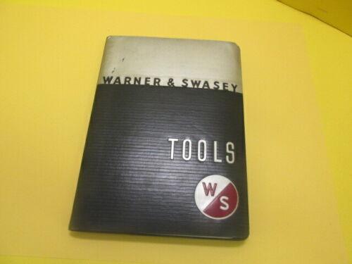 Warner & Swasey Tools catalog 59A
