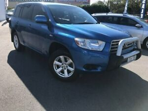 2007 Toyota Kluger GSU45R KX-R AWD Blue 5 Speed Sports Automatic Wagon Chinderah Tweed Heads Area Preview