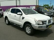 2011 Ford Ranger PX XLT 3.2 (4x4) White 6 Speed Automatic Dual Cab Utility Dubbo Dubbo Area Preview