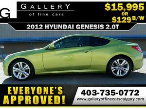 2012 Hyundai Genesis 2.0T $129 BI-WEEKLY APPLY NOW DRIVE NOW