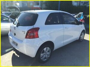 2006 Toyota Yaris NCP90R YR White 4 Speed Automatic Hatchback Kogarah Rockdale Area Preview