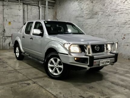 2013 Nissan Navara D40 S6 MY12 ST Silver 6 Speed Manual Utility Mile End South West Torrens Area Preview