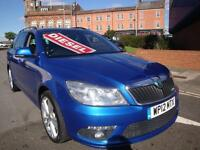 12 SKODA OCTAVIA VRS TDI 170 BHP ESTATE DIESEL *LEATHER SUNROOF*