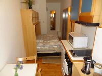 *London Zone 1/Earls Court - Nice Small Double Bedsit, Garden
