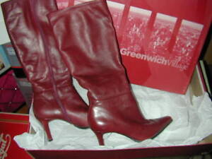 BEAUTIFUL LEATHER BOOTS MADE IN BRAZIL