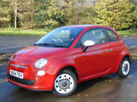 FIAT 500 1.2 COLOUR THERAPY 3d 69 BHP (red) 2015