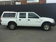 2000 Holden Rodeo TFR9 LX White 5 Speed Manual Crew Cab Pickup Phillip Woden Valley Preview